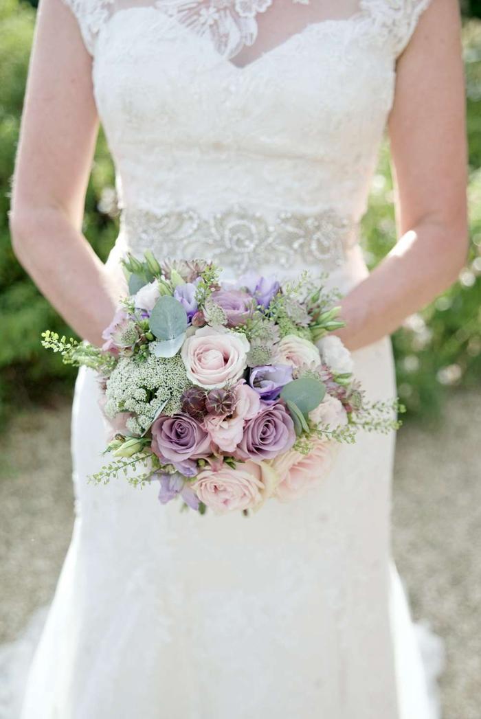 Hochzeitsstrauss Vintage Rosa