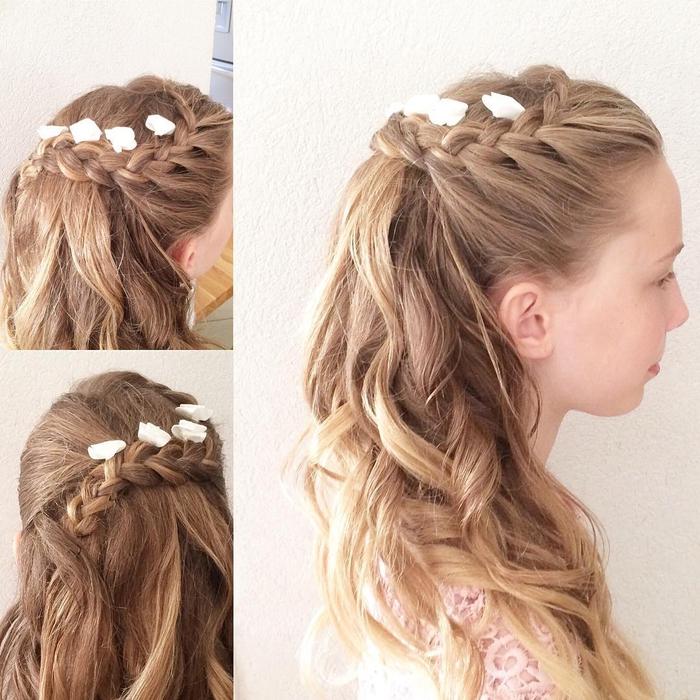 Einfache Hochzeit Frisuren