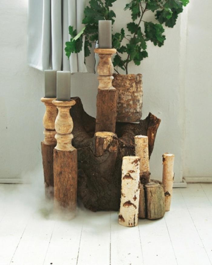 Holz Dekoration Fuer Hochzeit