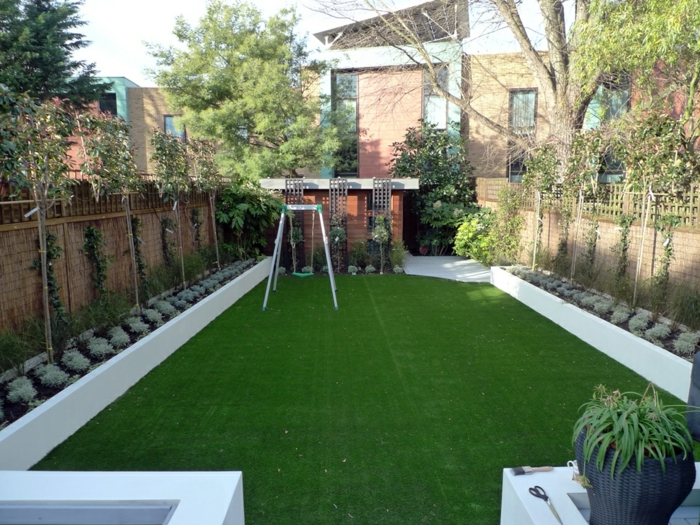 80 Ideen wie ein minimalistischer Garten aussieht