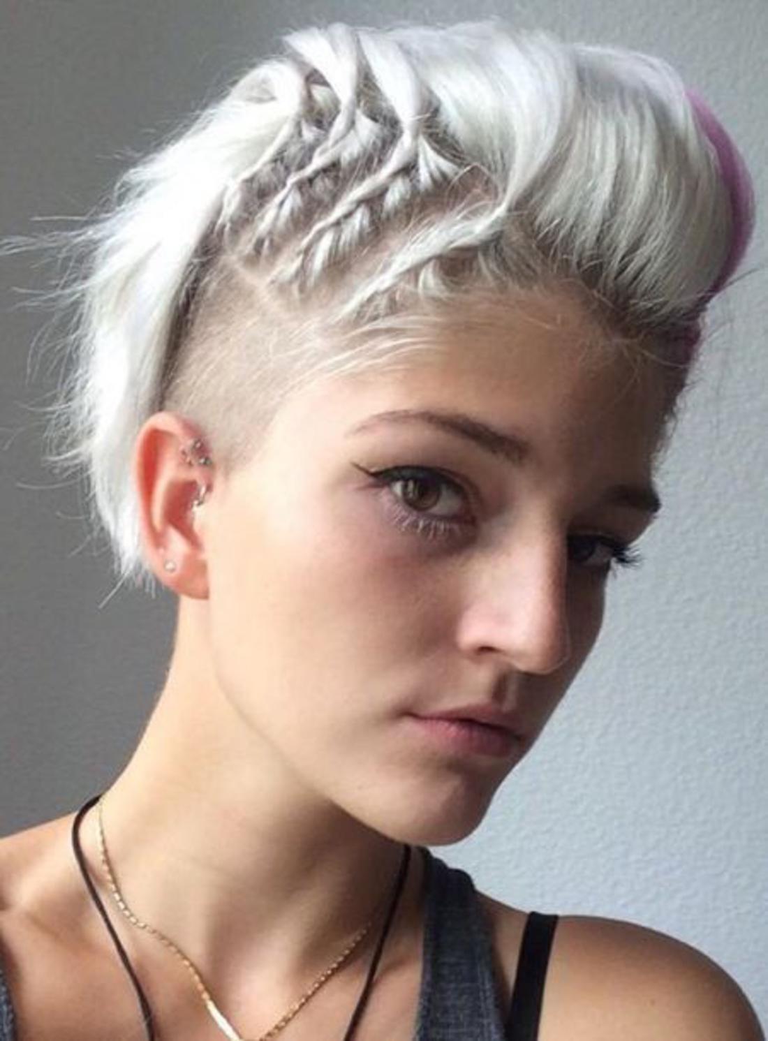 Frisuren Undercut Damen
