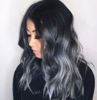 Haare braun grau  Moderne mnnliche und weibliche ...