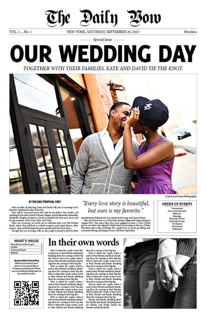 1001  Hochzeitszeitung Ideen fr die Gestaltung und Erstellung