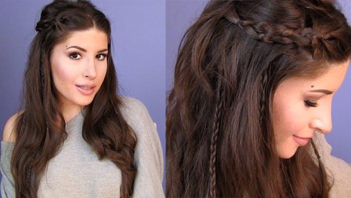 Wiesn Frisur Offene Haare