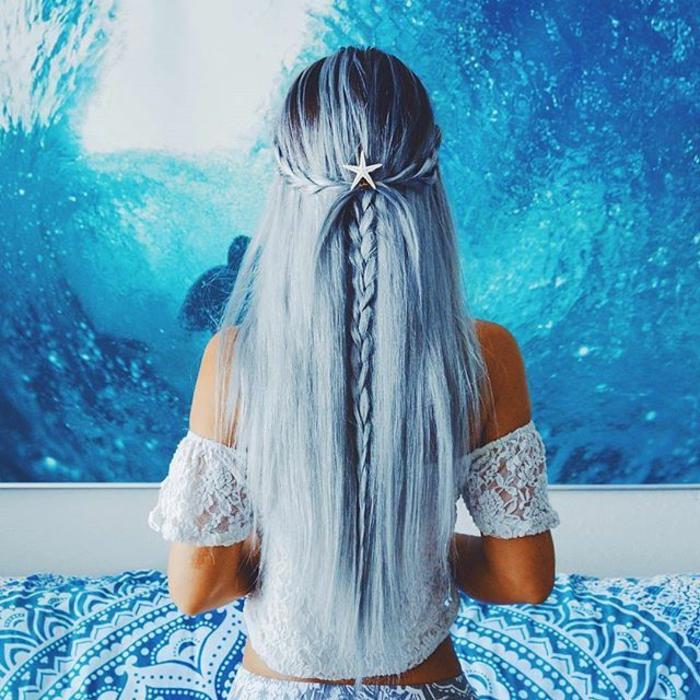 1001  Ideen fr coole Frisuren zum Thema Blaue Haare