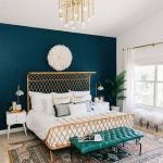 Schlafzimmer Ideen Schlafzimmer Gold Turkis