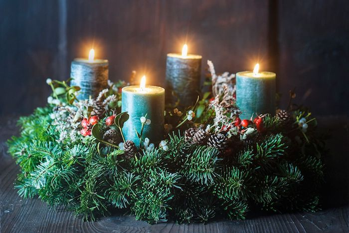 Advent wreath itself  pictures and instructions in simple