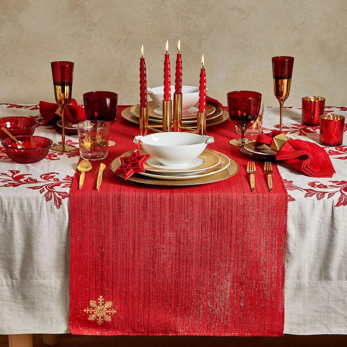 1001  Ideen fr Weihnachtstischdeko als Ergnzung der
