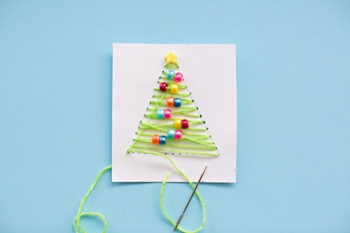 1001 Ideen Zum Thema Weihnachtskarten Basteln