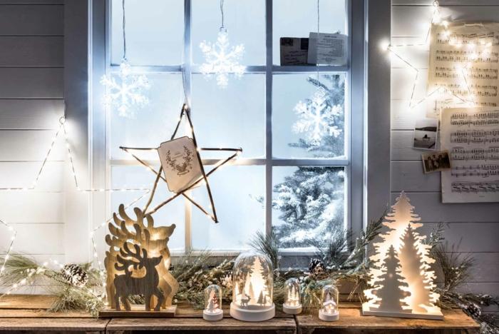 1001  Ideen fr bezaubernde Fensterdeko zu Weihnachten