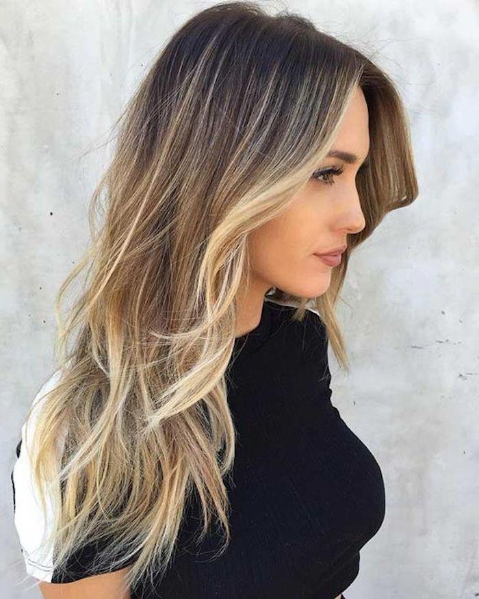 Dunkelblonde Haare Mit Strahnen