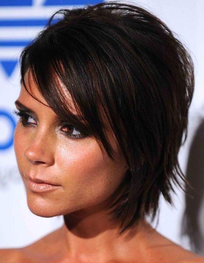Victoria Beckham Frisur Kurzhaarfrisuren So Tragen Die