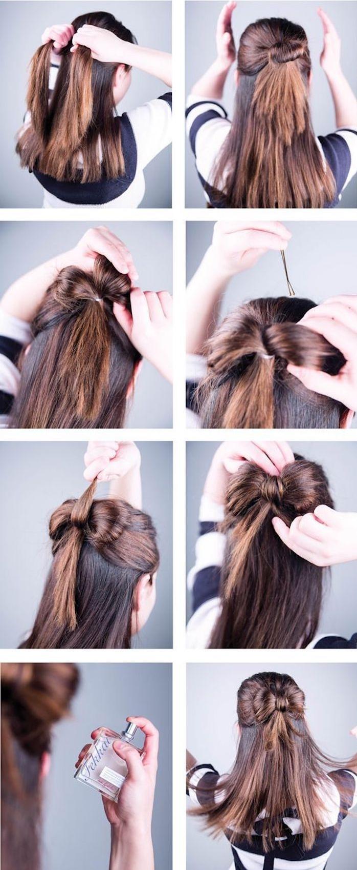 Hochsteckfrisuren Mittellange Haare Selber Machen