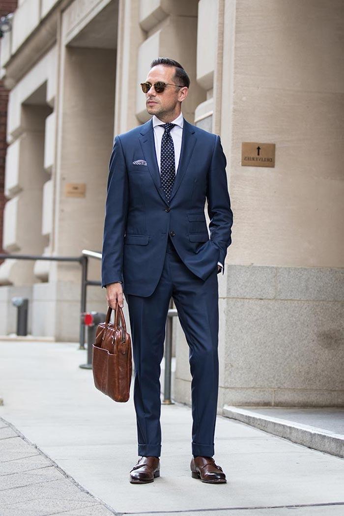 1001 + Ideen Wie Blauer Anzug, Braune Schuhe Und Passende