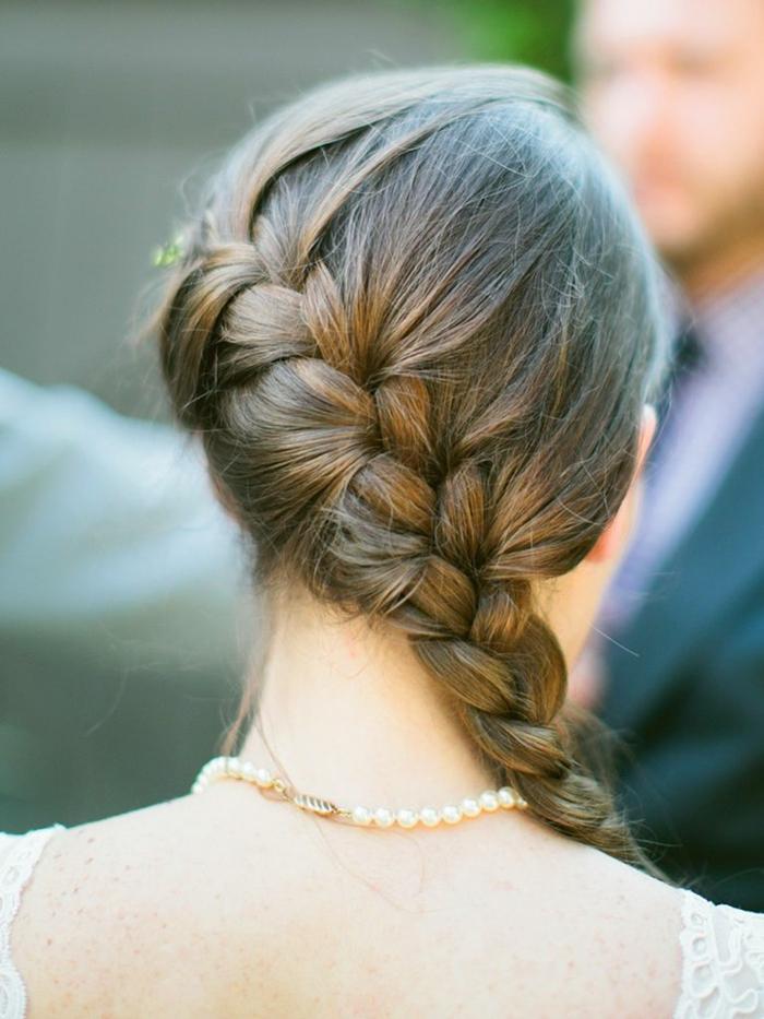 1001  Ideen fr Flechtfrisuren Hochzeit zum Entlehnen