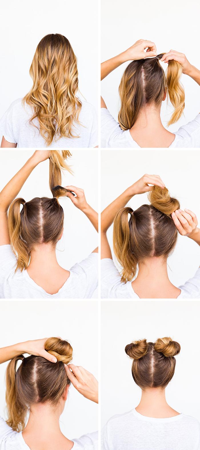 Einfache Schoene Frisuren Zum Selber Machen