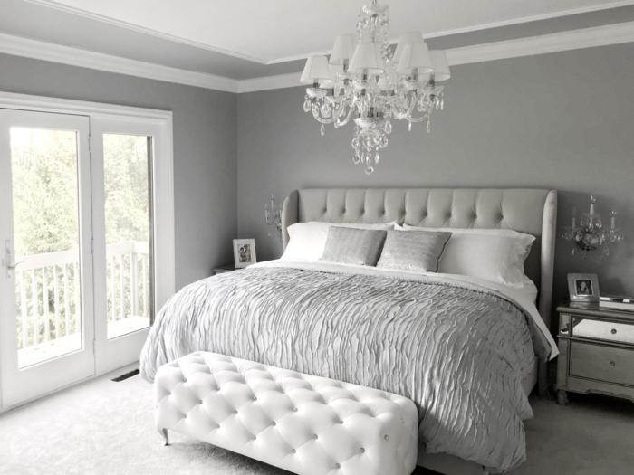 1001  Ideen fr Schlafzimmer grau gestalten zum Entlehnen