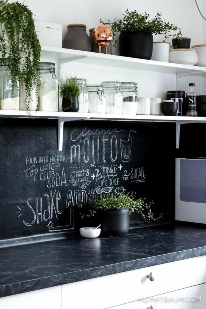 1001  Ideen fr Wandgestaltung Kche zum Entlehnen