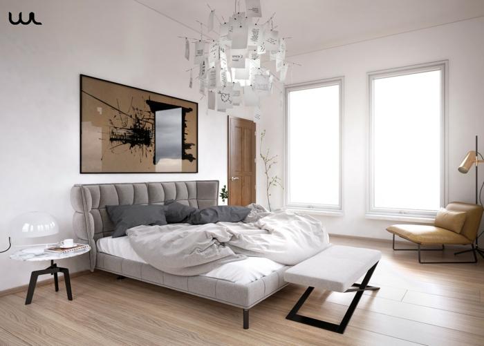Welche Farben Passen Ins Schlafzimmer | Schlafzimmer Grau ...