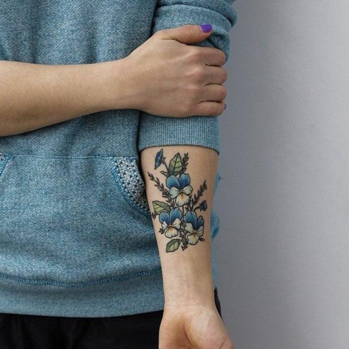 1001  Ideen fr Blumen Tattoo Designs und ihre Bedeutungen