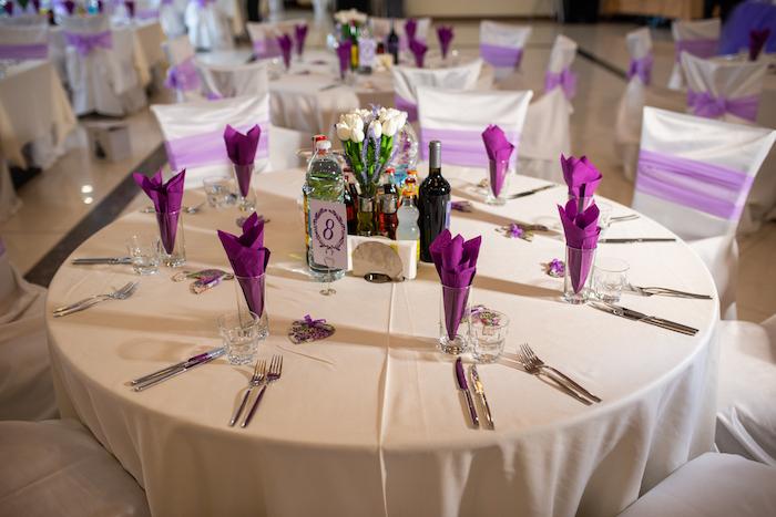 Tischdeko Hochzeit Wei Grn