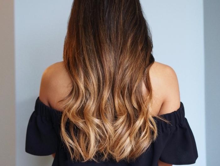 Strähnen braunen rote mit haare Rote Haare