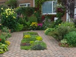 1001 + Ideen und Bilder zum Thema Vorgarten modern gestalten