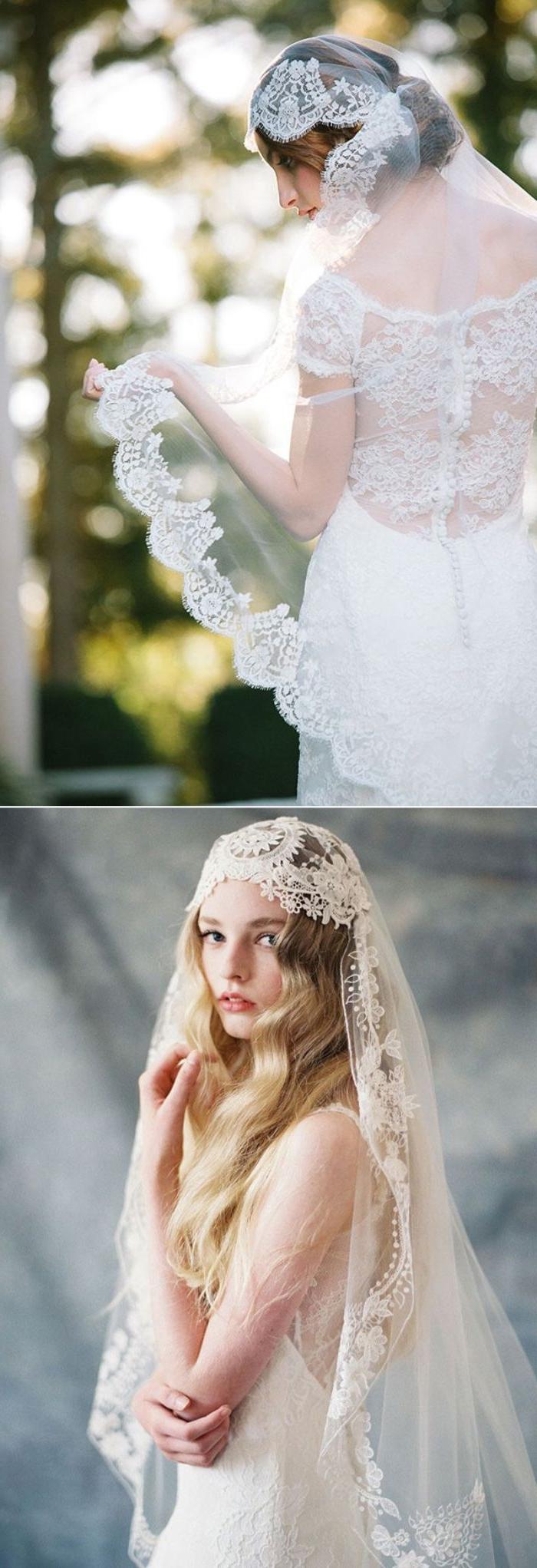 Hochzeit Offene Haare Schleier