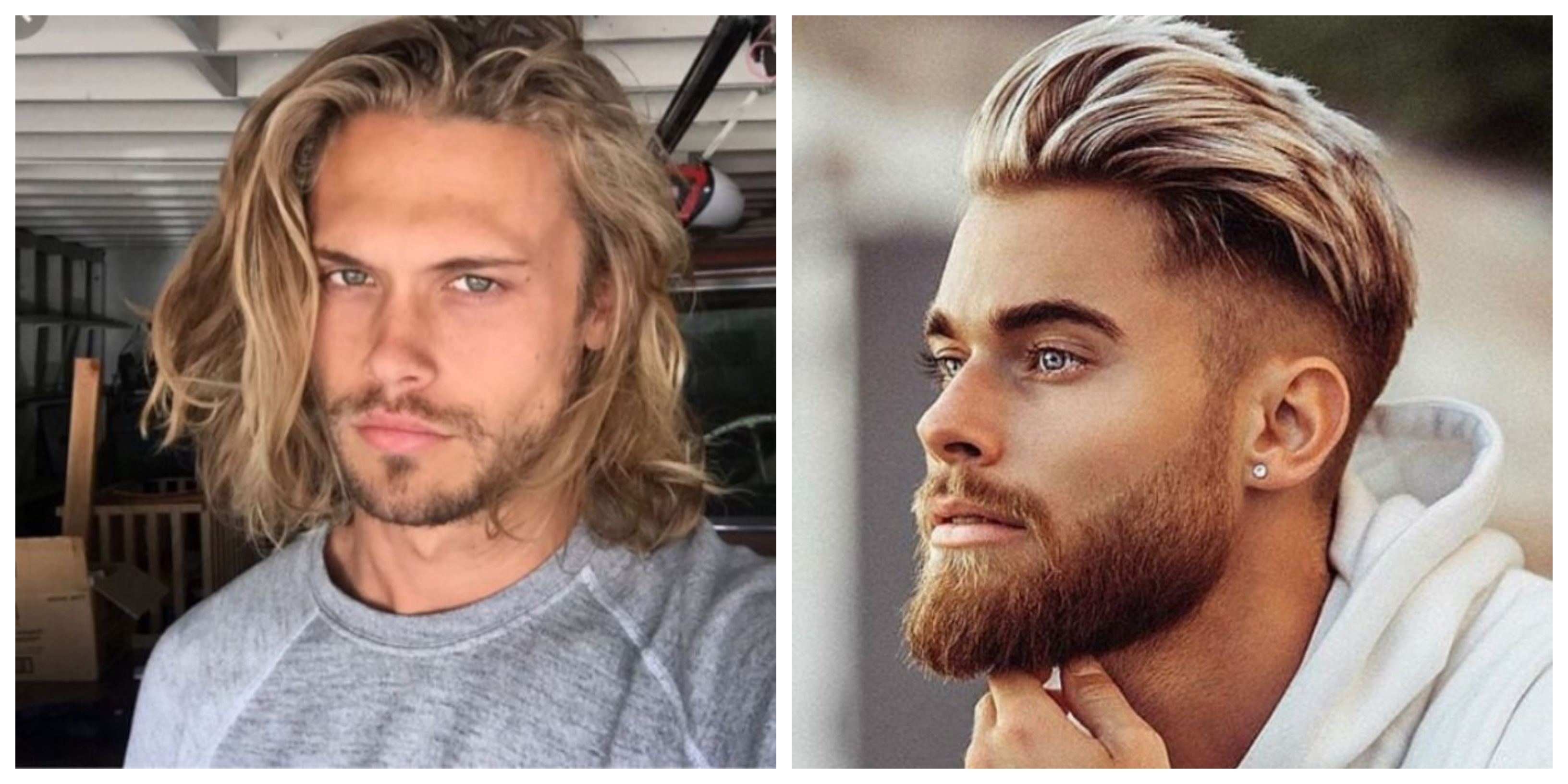 Frisuren Manner Blond Mittellang