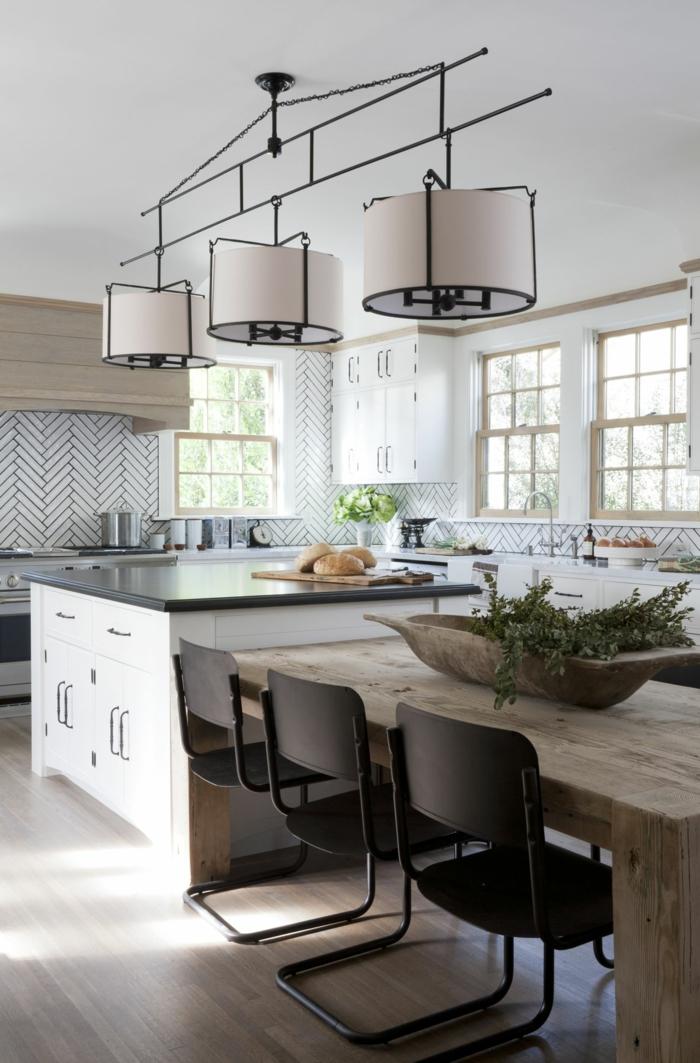 Moderne Kochinsel in der Küche - 71 perfekte Design Ideen