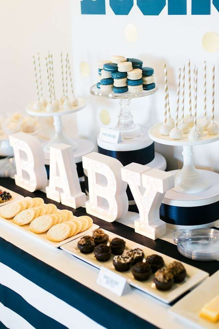 Baby Letters For Baby Shower : letters, shower, Ideas, Unique, Shower, Themes