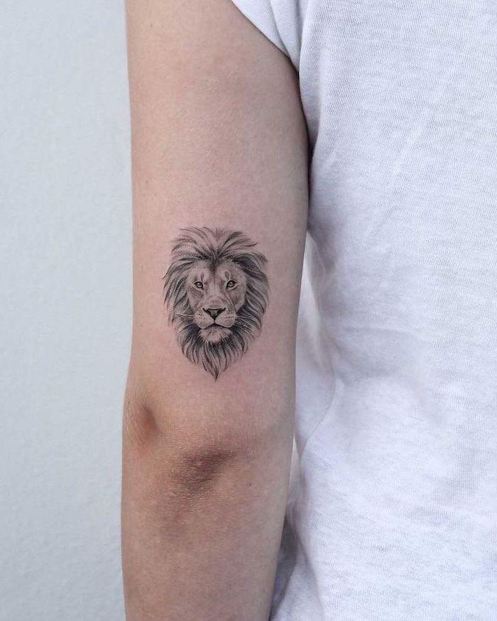 Lion Tattoo For Women : tattoo, women, 1001+, Ideas, Tattoo, Awaken, Inner, Strength