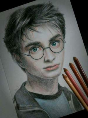 potter harry drawing drawings draw sketch pencil step hard hogwarts tutorial colored easy tutorials diy face fans die