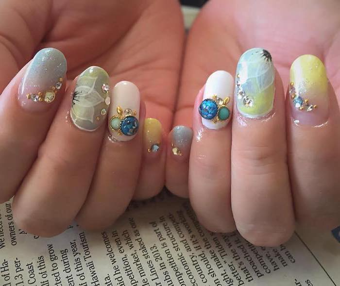 1001 Ideas For Summer Nail Designs To Try This Season