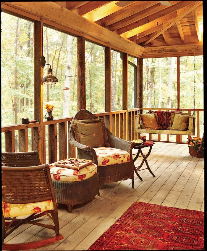 screened in porch ideas to help create