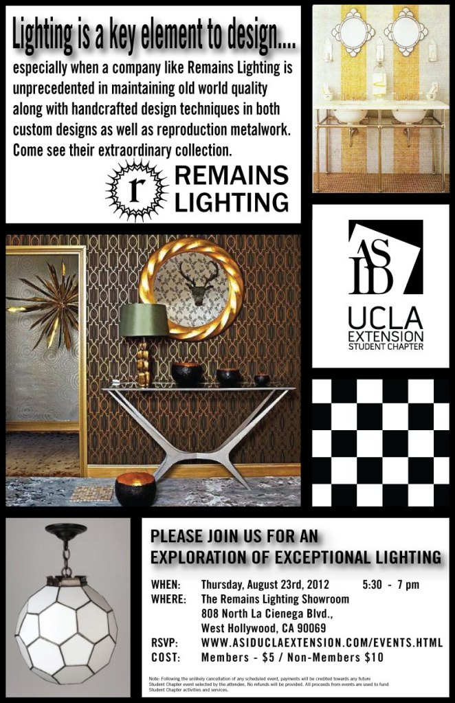Remains Lighting is Almost Sold Out!