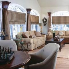 Window Treatments Ideas Large Windows Living Room Fresco Durablend Antique Set Treatment For Minimal The