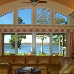 Curtain Ideas For Large Windows In Living Room Decor Styles Window Treatment Side Panels The
