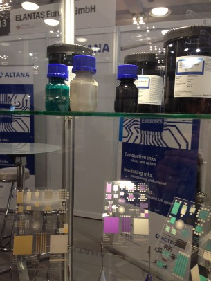 Conductive inks and printed electronics by Altana Printed Electronics