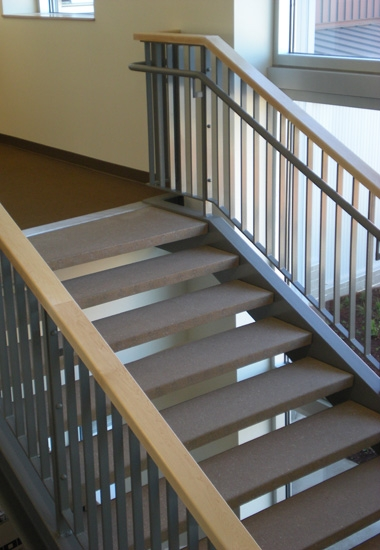 Arcis Durable And Attractive Precast Concrete Stair Treads | Prefab Oak Stair Treads | Hardwood Flooring | Wood Flooring | Wood Stair | Solid Oak | Risers