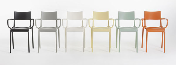 KARTELL  Generic A Kartell sedia di Philippe Starck
