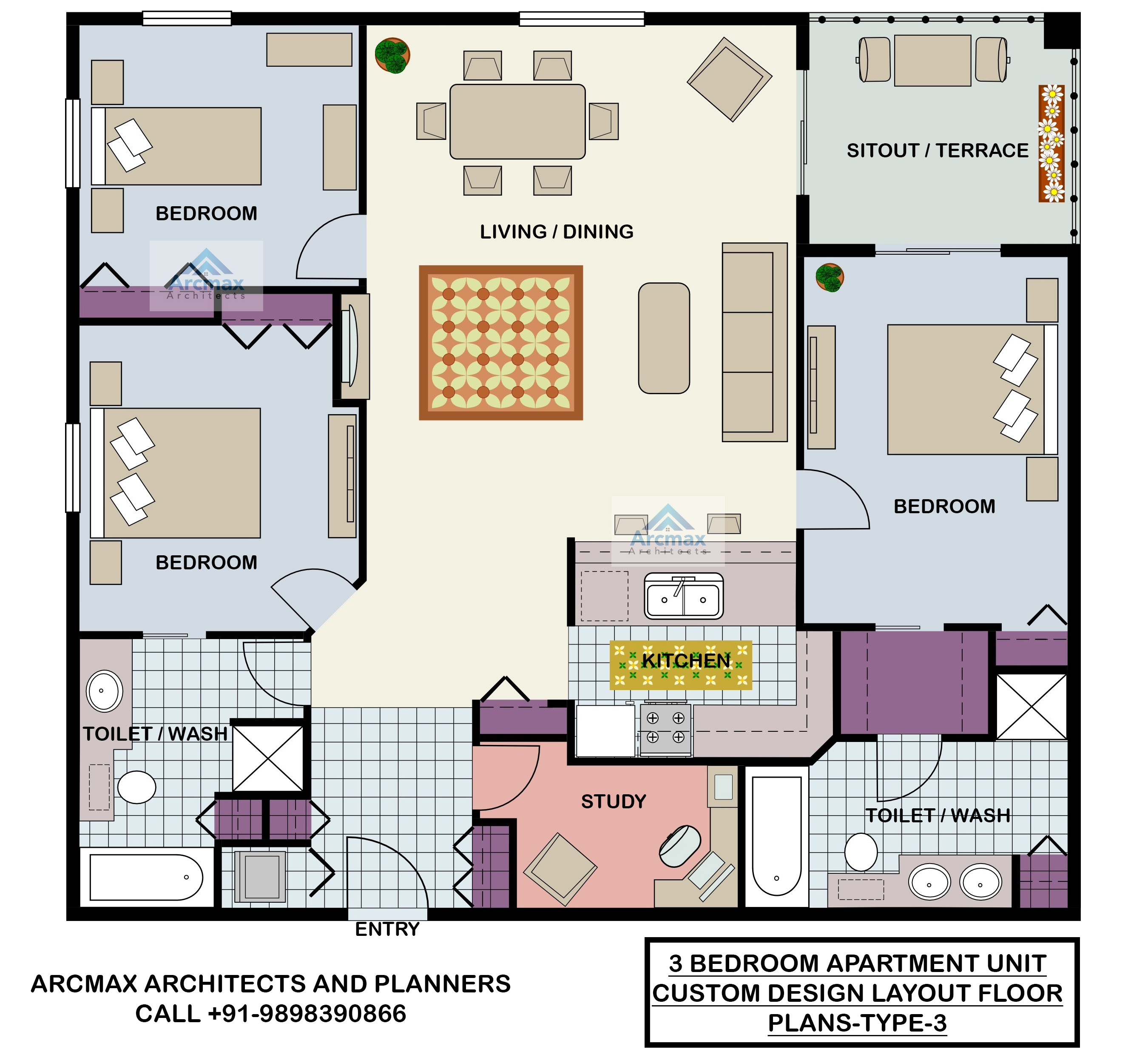 Home Plans and Residence Plans  Arcmax Architects