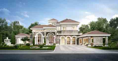 classic modern garden luxury rendering architecture 3d villa exterior interior residential cottage cottages zabini arranged malfoy twins marriage construction architects
