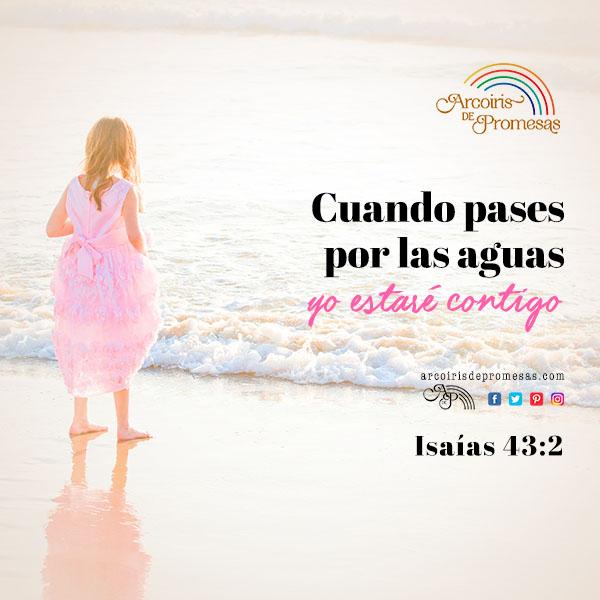cuando pases por las aguas promesas de dios para la mujer cristiana