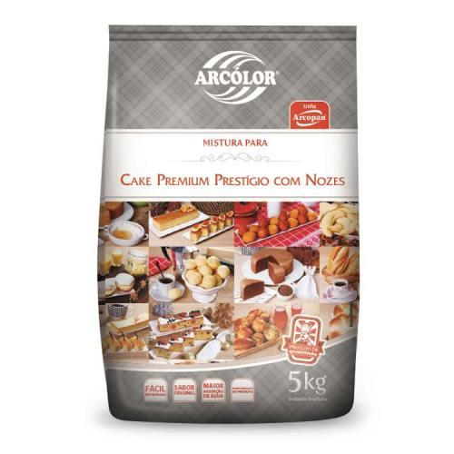 Mistura Cake Premium Prestígio c/ Nozes