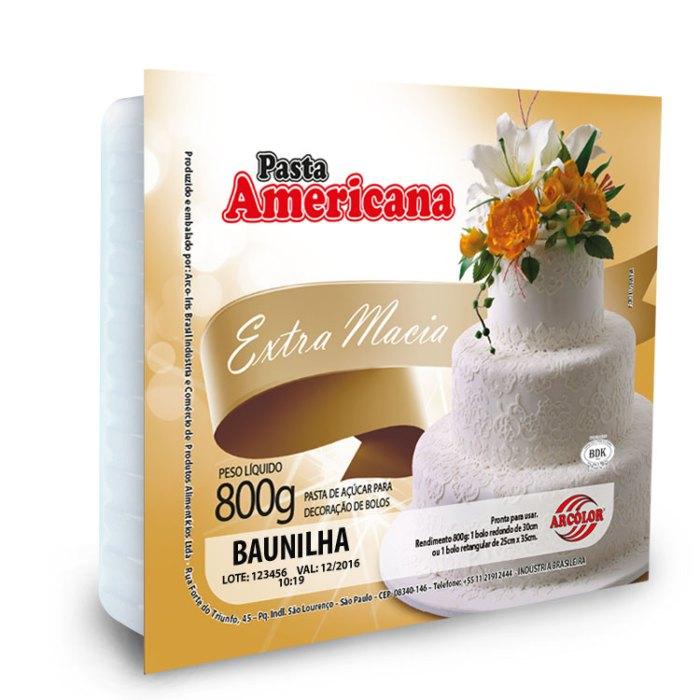 Pasta Americana Tradicional 800g