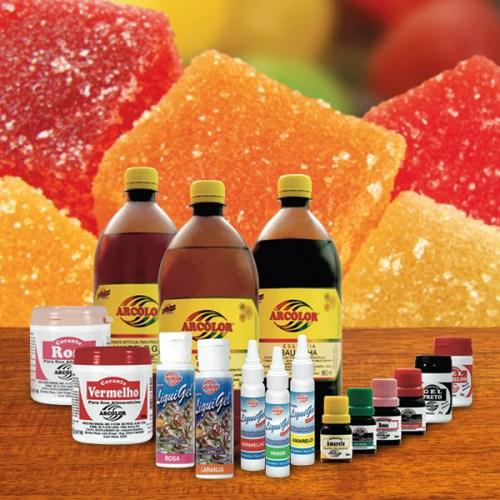 Corantes, Aromas e Aditivos