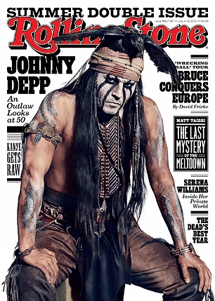 Rolling Stone Johnny Depp