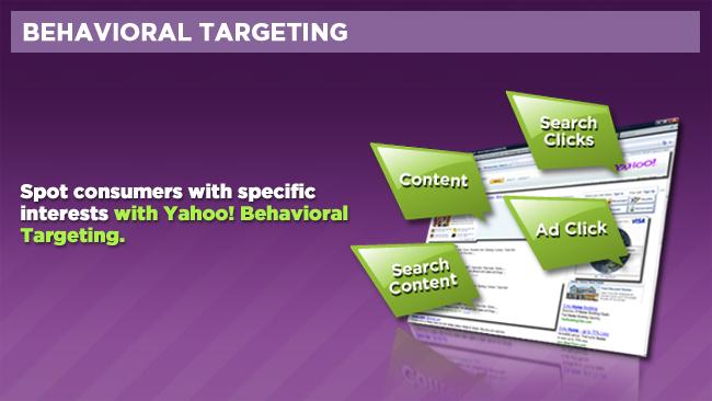 Behavioural targeting