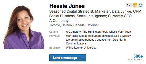 Hessie Jones   LinkedIn